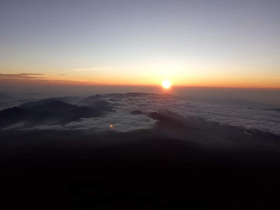 Izlazak sunca sa Fudzija foto: Nenad Stojanović,
